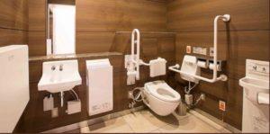 六本木ヒルズの多目的トイレ